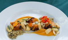 Butternut gnocchi, honey, sage, burnt butter, toasted almond... http://tenbompas-restaurant.co.za/