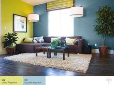 Kolor turkusowy wsalonie