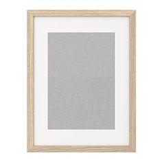 RIBBA Marco - efecto roble tinte blanco - IKEA