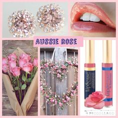 #AussieRose, #LipSense