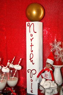 Milk and Cookies at the North Pole Party
