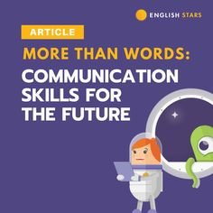 English Stars - More than words – communication skills for the future Teaching Tips, Learning Resources, Student Learning, Bad Video, Grammar Humor, English Lessons, More Than Words, Communication Skills, Bad News