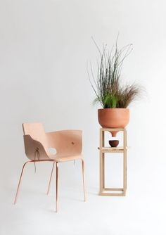 Shoemaker Chair By Martín Azúa. Plus A #planter