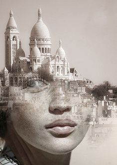 reverie... Artist Antonio Mora Blends Humans With Nature In Beautifully-Surreal Portrait Series | The Creators Project
