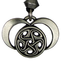 Moons of Hecate - Pewter Pendant Necklace