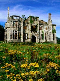 Castle ruins Ireland
