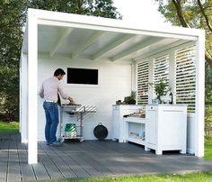 Hillhout//Sydney met extra opties 200x235 voor een kleine tuin