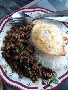 Kapao-kaidao :D Thai-food