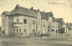 Eger, Deák Ferenc és Klapka Gy. úti sarok 1915