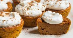 Pumpkin Pie Cupcakes 3 Smart Points   w w recipes