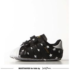 Adidas superstar baby, aren't they cool?