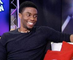 We LOVE Chadwick Boseman who plays the role of Jackie Robinson in the film Pretty People, Beautiful People, Black Panther Chadwick Boseman, Handsome Black Men, Black Man, Black Is Beautiful, Gorgeous Guys, Beautiful Pictures, Jackie Robinson