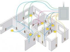 home electrical wiring diagram blueprint our cabin pinterest rh pinterest com home wiring electrical home wiring electricians
