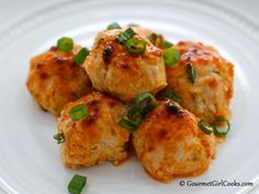 Gourmet Girl Cooks: Buffalo Chicken Balls - Easy & Delicious Low Carb