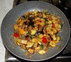 Mix di verdure in padella | Le mani in pasta