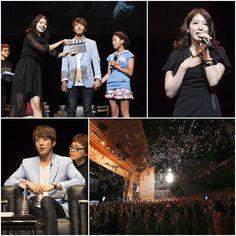 CNBLUE's Yonghwa and Park Shin Hye's 'Heartstrings' fan meet in Japan draws 10,000 fans