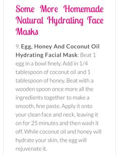 All Natural Hydrating Face masks Aztec Clay, Facial Cream, Face Skin Care, Skin Care Treatments, Beauty Hacks, Beauty Tips, Facial Masks, Locs, Natural Remedies