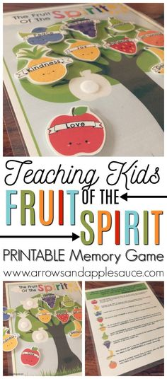 Ideas fruit of the spirit lessons for kids sunday school activities for 2019 Preschool Bible Lessons, Bible Lessons For Kids, Preschool Activities, Bible Activities For Kids, Bible Games, Toddler Bible Crafts, Preschool Bible Activities, Kids Church Lessons, Bible Story Crafts