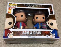 Funko Pop Supernatural Vinyl Sam & Dean 2-Pack HMV (canada) Exclusive. New!! in Collectibles, Pinbacks, Bobbles, Lunchboxes, Bobbleheads, Nodders | eBay