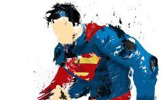 Superman Man of Steel Painted Wallpaper. Simple, but epic digital painting of Superman, the man of steel. Artwork Superman, Wallpaper Do Superman, Arte Do Superman, Superman Quotes, Superman Stuff, Superman Drawing, Superman Symbol, Superhero Superman, Batman Batman