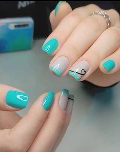 Neon Pink Nails, Uv Nails, Toe Nail Color, Nail Colors, Seasonal Nails, Simple Acrylic Nails, Dream Nails, Beautiful Nail Art, Creative Nails