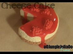 Tuto Fimo : Le CheeseCake / polymer clay Cheesecake tutorial - YouTube