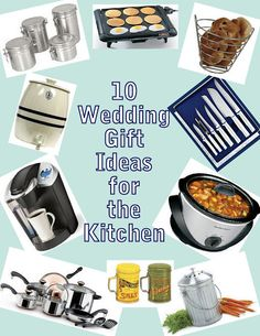 10 Wedding gift ideas for the kitchen