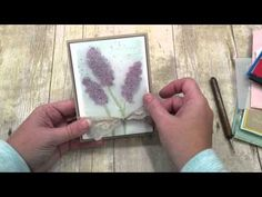 Join me as I show you several tips for stamping a beautiful floral card using Stampin Up's Greatest Greetings and Botanical Blooms Stamp set along with the B...