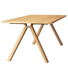 Muuto - Split Table Oak, Ambientebild