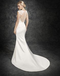Ella Rosa Style BE321 #bridal #weddingdress