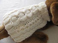 Knit dog sweater patterns