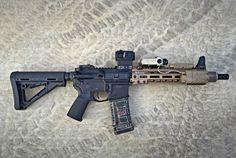 Post on spoilinforafight Ar Pistol Build, Ar15 Pistol, Ar Build, Airsoft Guns, Weapons Guns, Guns And Ammo, Rainier Arms, Ar Rifle, Battle Rifle