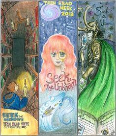 Teen Read Week Bookmark Contest 2014 #sccld