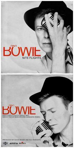 "NITE FLIGHTS 7"" single http://honeypotdesigns.blogspot.co.uk/search/label/David%20Bowie"