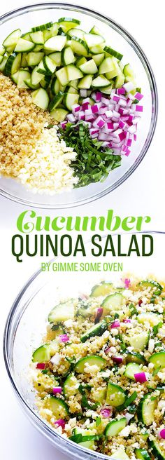 Make a big batch of quinoa ahead of time and this becomes a totally no-cook summer dinner. Recipe here.