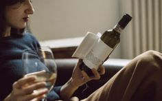 This wine bottle comes with a short story so you can really have a good time