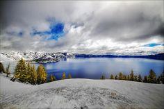 Crater Lake. Oregon.