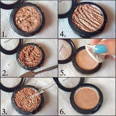 25. Coin Hack for Eyeshadow Fix | 35 Beauty Hacks You Need To Know About
