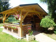 Pergoly, garážová stání, zahradní domky, dřevníky a - obrázek číslo 1