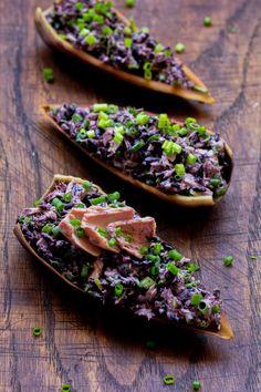Lubię to... gotowanie!: Sałatka z czarnym ryżem i tuńczykiem