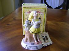 Mary Engelbreit Society Limited Edition The Stand Off 1986 Figurine w/Box & Tag
