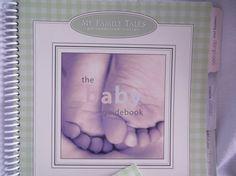 BABY BOOKUnisex Baby Book kitMy Family Ties by KornerCraftSupply, $10.50