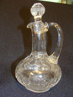 EAPG Adams Glass Co's Cottage Cruet