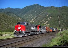 RailPictures.Net Photo: SP 275 Southern Pacific Railroad GE AC4400CW at Castilla, Utah by James Belmont