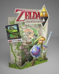 The Legend of Zelda A Link Between worlds Counter Stand by Ricky Cordero at Coroflot.com