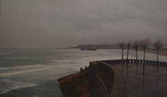 """La exposición que Mansé presenta ahora en Óvalo R&E, bajo el título """"La Luz Dormida"""", se compone en por una veintena de obras realizadas entre los años 2013 y 2015."""