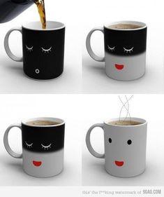 this mug wakes up!!!