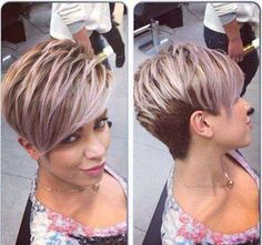 Cheveux courts