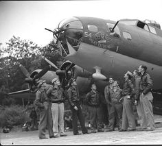 US B-17 Bomber Command, October 1942    Photographed for LIFE Magazine.