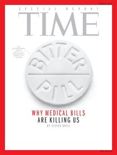 """""""Bitter Pill: Why Medical Bills Are Killing Us"""" (click through to read more) We recommend reading this! #healthcare"""